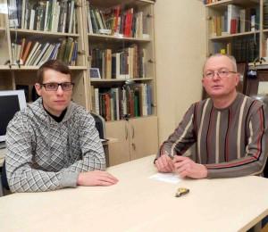Audrius Jakovlevas ir Audrys Antanaitis Sankt Peterburge | Alkas.lt, J. Vaiškūno nuotr.
