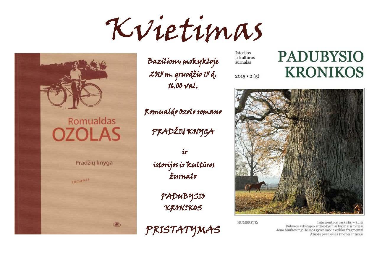 KVIETIMAS 5.1 Bazilionai