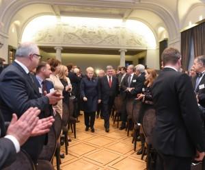 D.Grybauskaitė ir P. Porošenka atidarė dvišalį Lietuvos ir Ukrainos ekonomikos forumą | lrp.lt, R. Dačkaus nuotr.