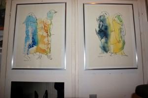 R. Goelrelio akvarelės – tipiški jo piešiniai | H. Mafrio nuotr.