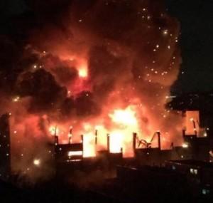 Maskovoje  kilo didžiausias gaisras per 25-erius metus | twitter.com nuotr.