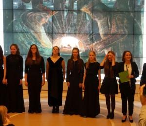 Sankt Peterburge įvyko baigiamasis jubiliejinių M.K. Čiurlionio metų koncertas | Alkas.lt, J. Vaiškūno nuotr.