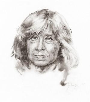 Svetlana Aleksijevič | U. Žilytės piešinys