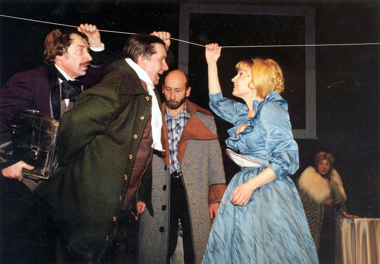 ZekasA.N. Gogol VEDYBOS 1989_Kauno dr.teatro nuotr