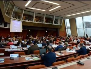 Berno konvencijos Nuolatinio komiteto 2015 m. gruodžio mėn. 1 d. posėdis Europos Tarybos būstinėje Strasbūre | Berno konvencijos sekretoriato nuotr.
