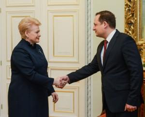 Prezidento kanceliarijos nuotr.