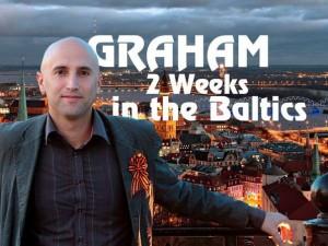 Grehemas Filipsas reklamuoja savo būsimą kelionę į Baltijos šalis | Facebook.com nuotr.