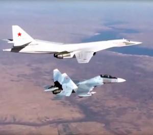 Rusijos lėktuvai bombarduoja Siriją | youtube.com stop kadras