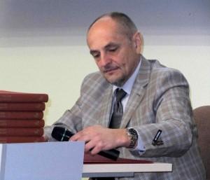 prof. Algimantas Kirkutis siekia, kad žmonės kuo sveikiau gyventų ir taip išvengtų ligų | J. Dapšausko nuotr.