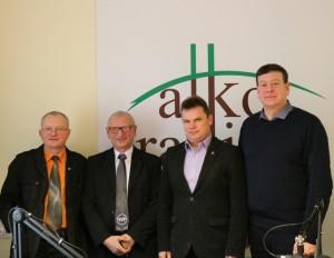 Audrys Antanaitis, Juozas Zykus, Rimantas Micka, Valentinas Bukauskas | J. Gaučo nuotr.