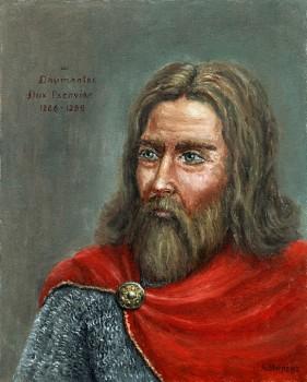 Daumantas, Nalšios ir Pskovo kunigaikštis | Dail. Artūras Slapšys