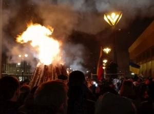 Sausio 13-osios minėjimas Nepriklausomybės aikštėje Vilniuje | Alkas.lt, T. Baranausko nuotr.