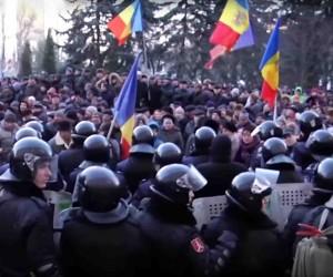 Protestai Kišiniove | youtube.com nuotr.