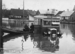 Potvynis Kaune 1931 m.