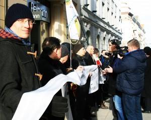 Lietuvos Vyriausybės kanceliarijai bus pristayta rekordinio ilgio peticija | ANI nuotr.