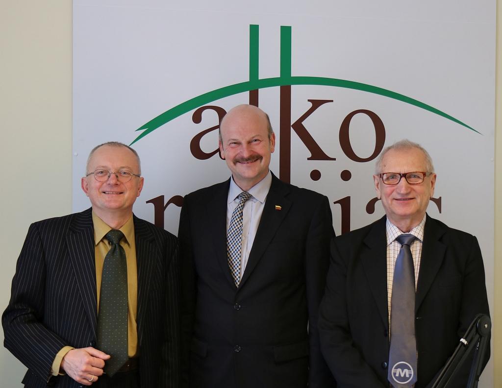 Audrys Antanaitis, Algis Strelčiūnas ir Juozas Zykus | alkas.lt nuotr.