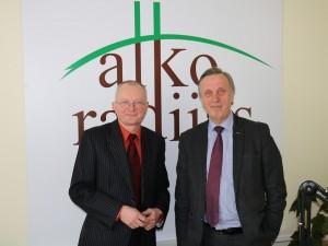 Aurdys Antanaitis ir Povilas Gylys   Alkas.lt, J. Gaučo nuotr.