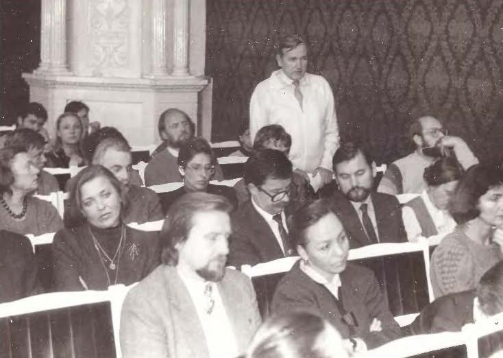 Pasirengimas Pirmajam kultūros kongresui   Nuotr. iš asmeninio archyvo.