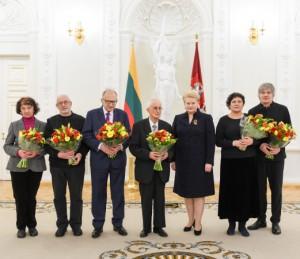Prezidentė įteikė Nacionalines kultūros ir meno premijas | lrp.lt nuotr.