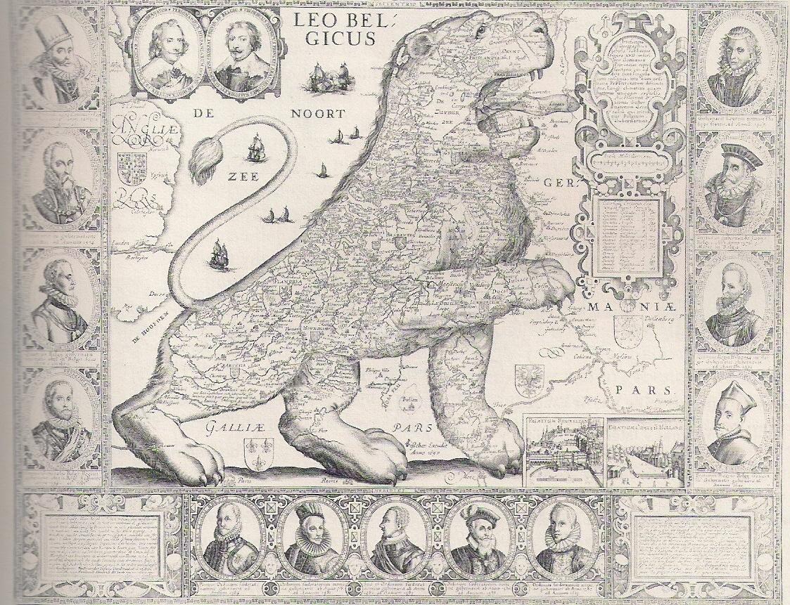 Stilizuotas liūtos formos Nyderlandų žemėlapis | Autorės nuotr.