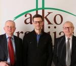 Audrys Antanaitis, Šarūnas Gustainis, Juozas Zykus   Alkas.lt nuotr.