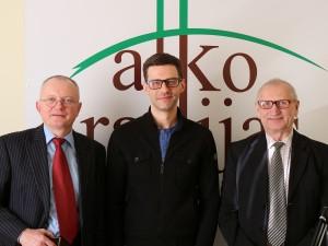 Audrys Antanaitis, Šarūnas Gustainis, Juozas Zykus | Alkas.lt nuotr.