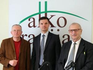 Audrys Antanaitis, Paulis Saudargas, Juozas Zykus | alkas.lt nuotr.