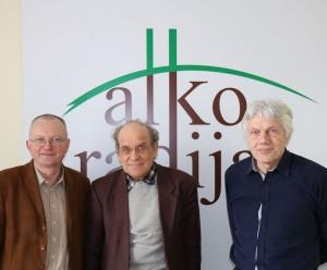 Audrys Antanaitis, Kresencijus Stoškus ir Vytautas Daraškevičius   alkas.lt nuotr.