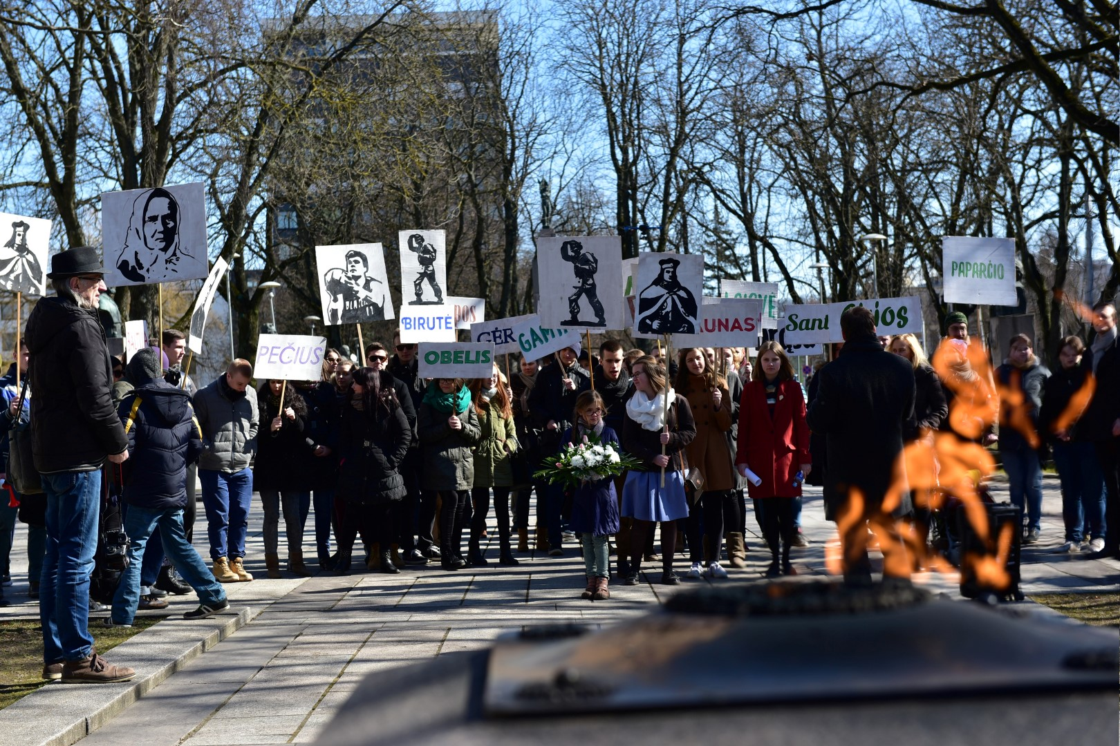 KTU studentai akcijoje Siuolaikinis patriotas3_kam.lt