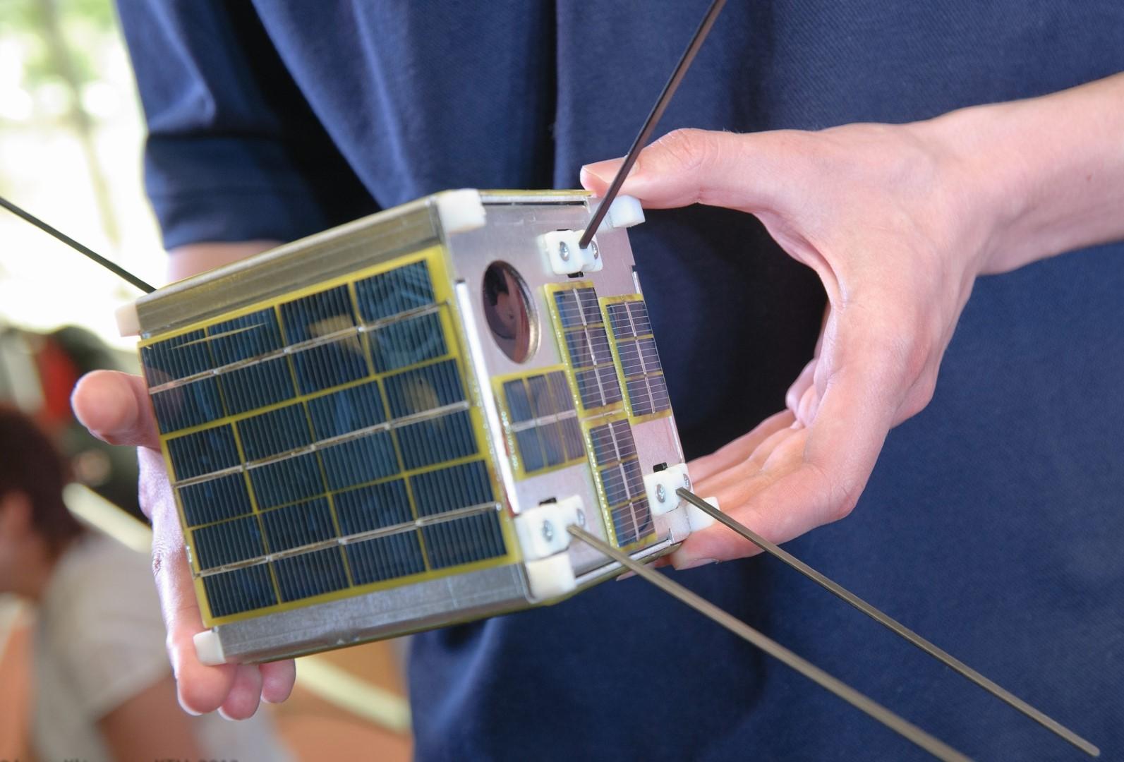 KTU sukurtas pirmasis lietuviskas palydovas LitSat-1