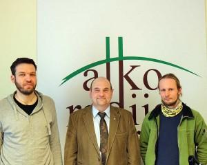 Algimantas Kuras, Gerimantas Statinis ir Vytenis Dapkevičius | Alkas.lt nuotr.