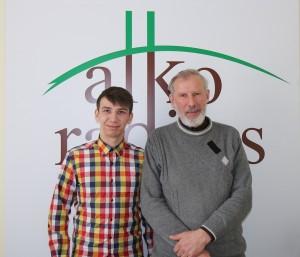 Maksim Frantovskij ir Gintautas Jakimavičius | alkas.lt nuotr.