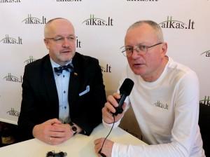 Juozas Olekas ir Audrys Antanaitis   alkas.lt nuotr.