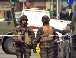 Po teroro išpuolių Briuselyje | youtube.com stop kadras