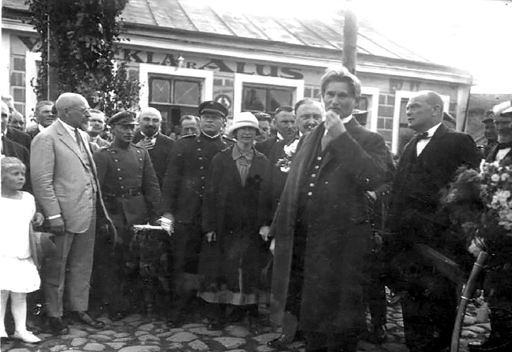 Prezidentas dr. Kazys Grinius 1926 m. Siauliuose_centrinio arch.nuotr