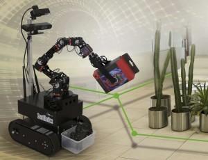 SentiBotics robotas | rengėjų nuotr.