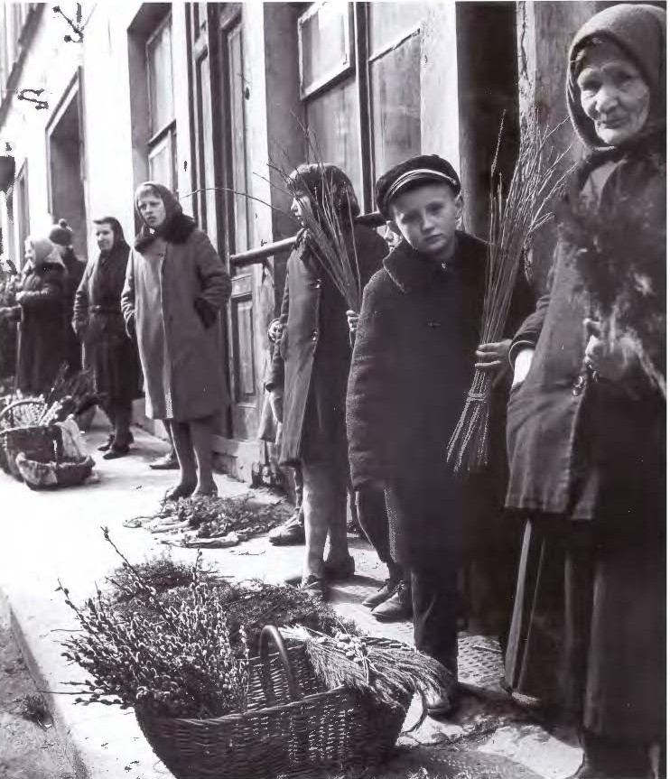 Verbų sekmadienis. 1968 m.  | Algimanto Kunčiaus nuotr.