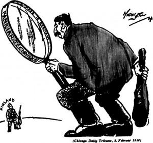 amerikieciu-karikatura_leidykla Briedis