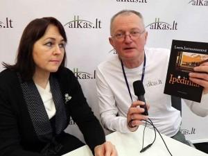 Loreta Jastramskienė ir Audrys Antanaitis | Alkas.lt nuotr.