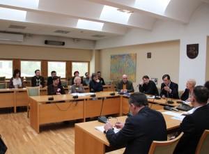 Visuomenės atstovų kultūros komiteto ir Lietuvos teatrų ir koncertinių įstaigų darbuotojų profesinių sąjungų federacijos atstovų posėdis | rengėjų nuotr.