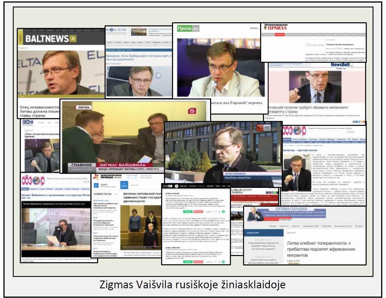 Zigmas Vaišvila rusiškoje žiniasklaidoje | VSD ir AOTD nuotr.