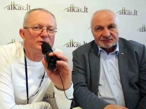 Audrys Antanaitis ir Valentinas Mazuronis | alkas.lt nuotr.