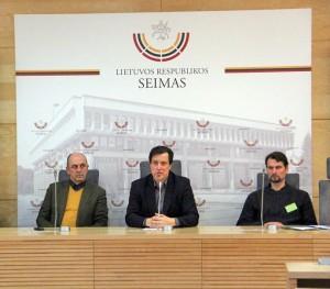 V. Juozapaičio spaudos konferencija | U. Naujokaitytės nuotr.