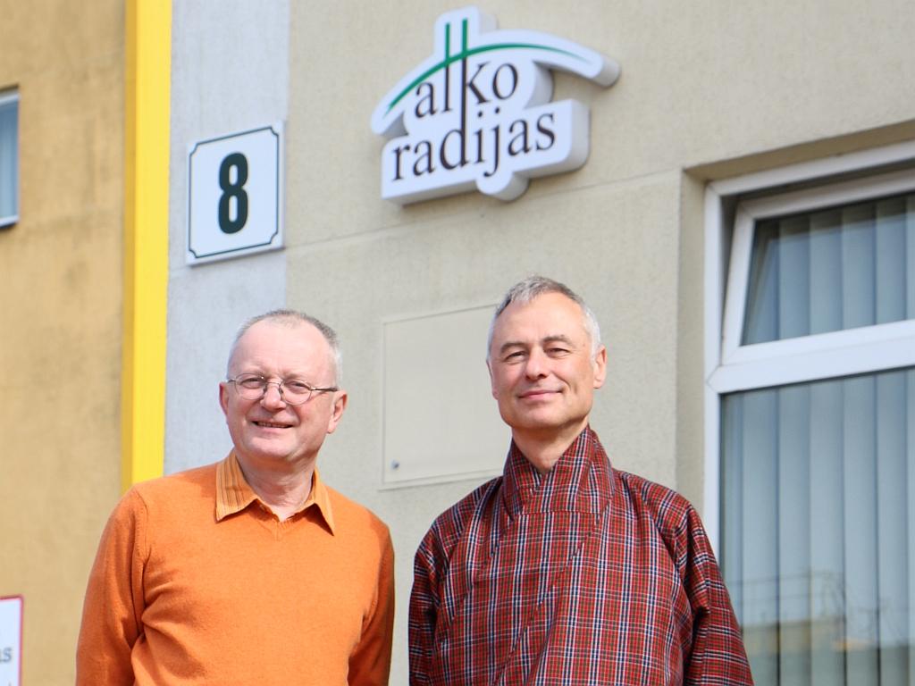 Audrys Antanaitis ir Darius Radkevičius | alkas.lt nuotr.