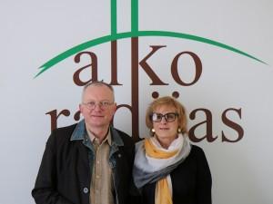 Audrys Antanaitis ir Rūta Vanagaitė | alkas.lt nuotr.
