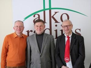 Audrys Antanaitis, Valdas Vasiliauskas ir Juozas Zykus | alkas.lt nuotr.