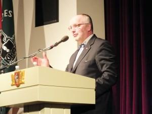 Krašto apsaugos ministras Juozas Olekas | P. Šimkavičiaus nuotr.