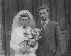 Danutė Balciute ir Vytautas Balcius. 1959_asmen.nuotr