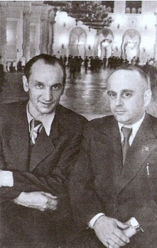 V. Dekanozovas ir J. V. Paleckis | wikipedia.org nuotr