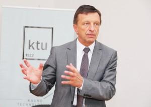 KTU rektorius Petras Baršauskas | ktu.edu.lt nuotr.